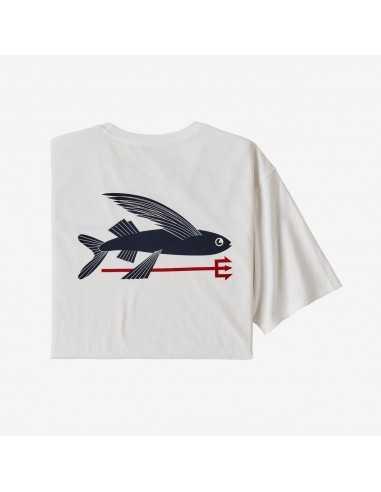 M's Flying Fish Organic T-Shirt -...